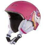 Cairn Helmet Andromed J Fuchsia Unicorn Overview