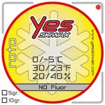 Yes Skiwax Fart Roto Roto Nf Yellow 10gr Présentation