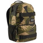Burton Sac à dos Treble Yell 21l Backpack  Martini Olive Woodcut Palm Face