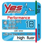 Yes Skiwax Nordic Glide wax Performance 18 50gr Overview