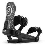 Ride Fix Snowboard A-10 Forbidden Trees Black Présentation