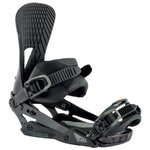 Nitro Snowboard Binding Machine Carbon Grey Overview