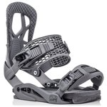 Drake Binding snow Fifty Steel Grey Voorstelling