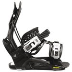 Flow Snowboard Binding Micron Youth Black Overview