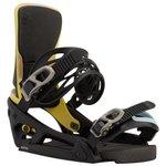 Burton Snowboardbindung Cartel X Est Black Multi Präsentation