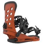 Union Snowboard Binding STR Burnt orange Overview