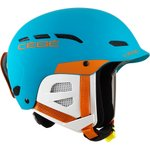 Cebe Helmet Dusk Junior Matt Blue Orange Overview
