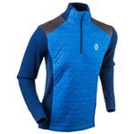 Bjorn Daehlie Sweat sportswear Half Zip Comfy Turkish Sea Présentation