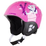 Cebe Helmet Pluma Junior Shiny Pink Bear Overview