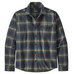 Patagonia Chemise Fjord Flannel Lawrence New Navy Dos