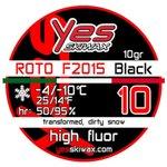 Yes Skiwax Cera Roto Roto F2015 Black 10 10gr Presentación