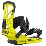Union Snowboard Binding FLITE PRO Hazard yellow Overview
