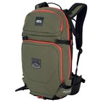 Picture Backpack DECOM 24L C Dark Army Green Overview