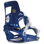 Nidecker Snowboard Binding Prime Blue White Overview