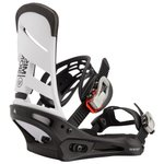 Burton Fix Snowboard Mission White Black Présentation