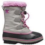 Sorel Snow boots Yoot Pac Nylon Chrome Grey Orchid Overview