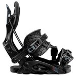 Flow Snowboard Binding Fuse Hybrid Black Overview