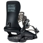 Rome Snowboard Binding 390 Black Overview