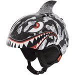 Giro Casque Launch Plus Black Grey Tiger Shark Présentation