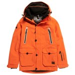 Superdry Blouson Ski Freestyle Havana Orange Présentation