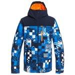 Quiksilver Ski Jacket Morton Brilliant Blue Radpack Overview