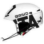 Briko Helm Slalom Fédé Fisi Shiny White Black Präsentation