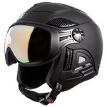 Diezz Casque visière Louna 2 Color Black Activilux Mirror Gold Cat 1-3 Présentation