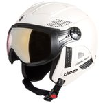 Diezz Visor helmet Louna 2 Color White Pearl Activilux Miror Gold Cat 1-3 Overview