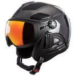 Diezz Casque visière Louna 2 Chrome Silver Black Activilux Ml Dark Red Cat 1-3 Présentation