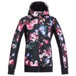 Roxy Fleece Frost Printed True Black Blooming Party Overview