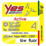 Yes Skiwax Nordic Glide Wax Active 4 50gr General View
