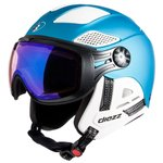 Diezz Casque visière Louna 2 Tween Blue Metal Activilux ML Blue Cat 1-3 Présentation