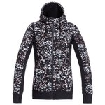 Roxy Fleece Frost Printed True Black Izi Voorstelling