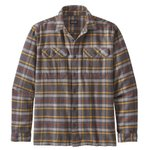 Patagonia Shirt Fjord Flannel Independence  Forge Grey Overview