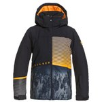 Quiksilver Ski Jacket Silvertip Jr True Black Parafinum Overview
