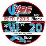 Yes Skiwax Roto-Bürsten-Wachs Roto F2015 Black 20 10gr Präsentation