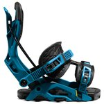 Flow Snowboard Binding Fuse Blue Black Overview