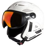 Diezz Casque visière Louna 2 Ventury Graff White Activilux Ml Dark Red Cat 1-3 Présentation