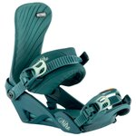Nitro Fix Snowboard Ivy Blue Leaf Présentation