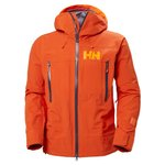 Helly Hansen Skijacke Sogn Shell 2.0 Patrol Orange Präsentation