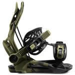 Flow Snowboard Binding Fenix Green Overview