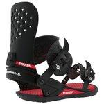 Union Fijaciones snowboard Strata Black Presentación