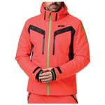 Rossignol Ski Jacket Hero Aile Neon Red Overview