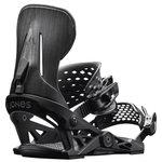 Jones Fix Snowboard Mercury Black Wood Détail