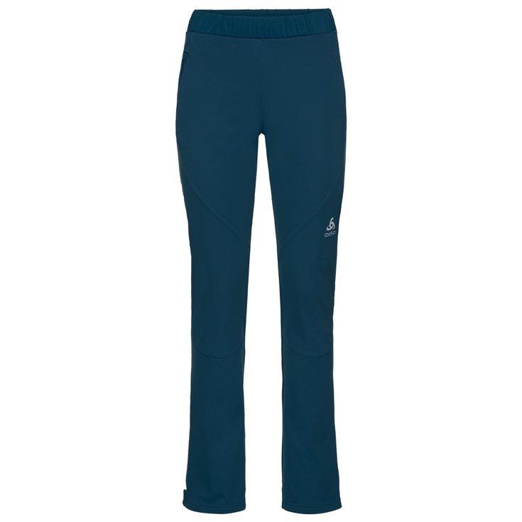 on wholesale recognized brands order Pantalon Nordique Odlo Aeolus Element Warm W Poseidon