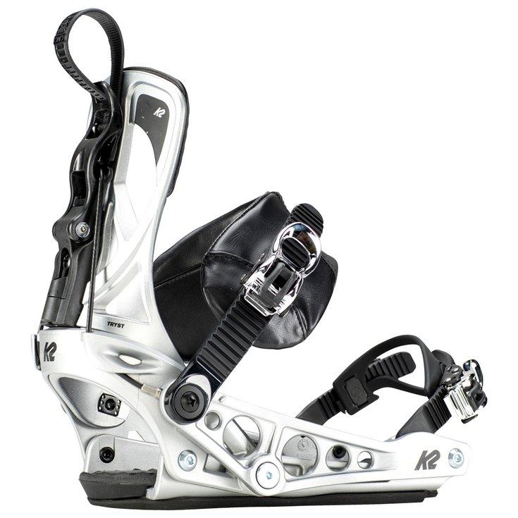 Silver K2 Cinch Cinch Tryst K2 Snowboardbindung Snowboardbindung 8knPwO0X